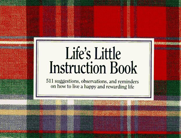Rewriting Life S Little Instruction Book From The Cusp