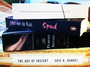 The men in my life keep giving me massive books as gifts. In 2013, I resolve to read them.