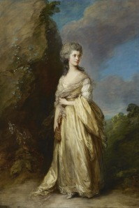 The Gainsborough portrait of Mrs. Peter William Baker that sparked a smile