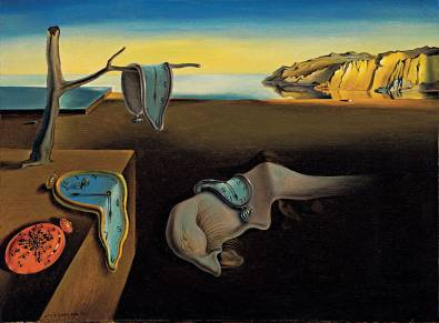 Time melts away when two people decide to melt together. Thanks, for this Dali.