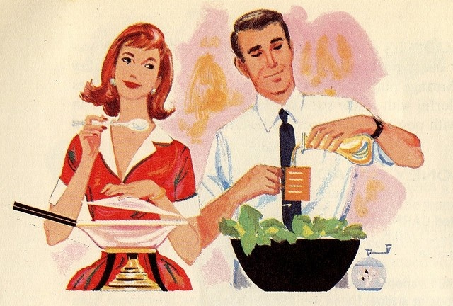 Dating cooking together