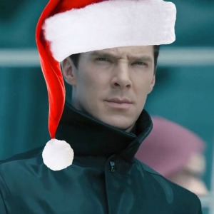 Benedict can be my Santa any day... #naughtyelf