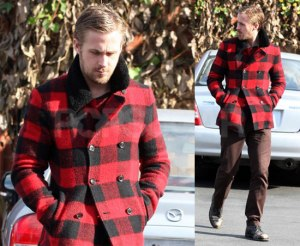 Look, I know it's Ryan Gosling and not a lumberjack, per-say... but It's Christmas.