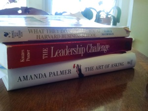 My current reading list.