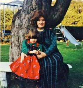 There's no doubt my hair and love of patterns are inherited from my mother...